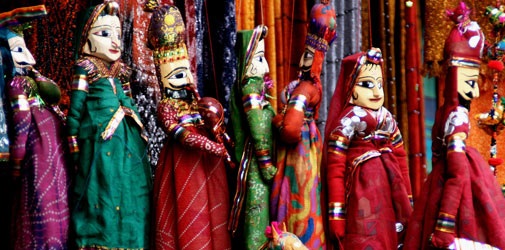puppet dance rajasthan india